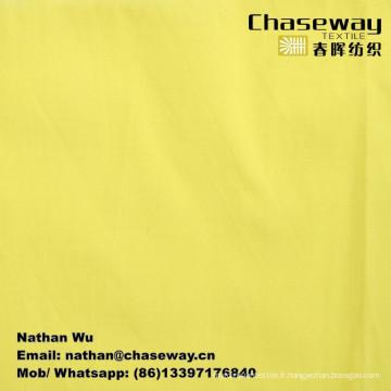 Tissu extensible à haute densité Tête texturée / 97% coton + 3% Spandex