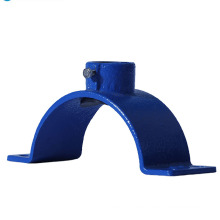 U Type Galvanized Stainless Steel Metal Hose Clamp Saddle Pipe Clamp for PE pipe