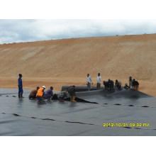 HDPE Pond Liner / LDPE EVA Résistance UV Geomembrane Membrane de décharge de mine de charbon à vendre