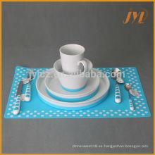 juego de vajilla de cerámica