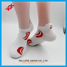 men's summer ankle white polyester sproty Socks
