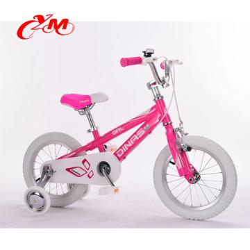 China bestes Verkaufskindfahrrad / vier Räder EN 71 Fahrradfrontseitenkinder / heißes verkaufendes preiswertes Großhandelsfahrradkinder 3years Kinderfahrrad