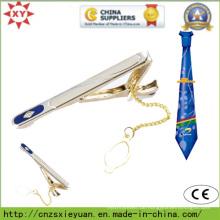 Goldüberzug-Metall Kundenspezifischer Krawatten-Klipp für Geschenke