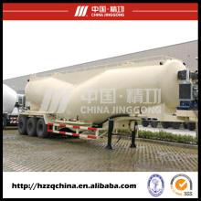 Entrega segura de semi-reboque de cimento a granel seco (HZZ9400GFL) com alto desempenho para venda