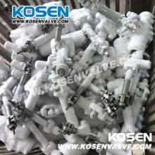 Válvulas de porta criogênicas de aço forjadas API602