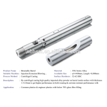 alloy barrel for injection machine screw