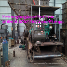Diesel Engine Mobile Tree Branch Wood Crusher