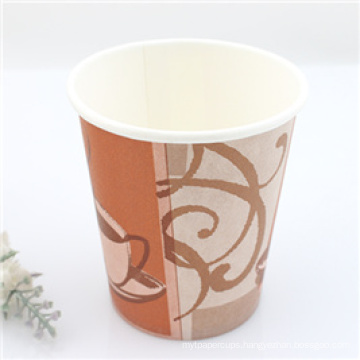 Wholesale Disposable Single Wall Paper Cups with Different Designs for Hot Sale