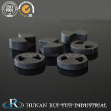Electronic 95% Alumina Ceramics Disc Part for Thermostats