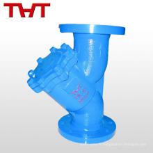 fonte / acier au carbone / acier inoxydable industrielle Y type filtre / filtre