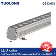 Larga distancia de la luz LED Wall Washer 100W Alta luz de construcción al aire libre brillante
