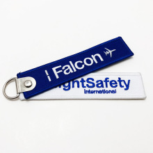 Customize your own remove before flight embroidered keyring