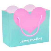 2017 new design hot sale paper shopping bag