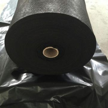 PET Short Fiber Nonwoven Geotextile Med Thermo Bonded