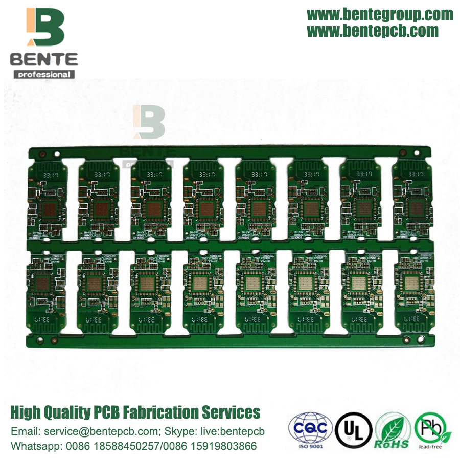 Carte PCB Low Cost 4 couches FR4 Tg135 ENIG 3U
