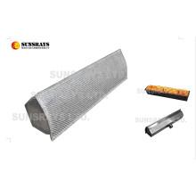Quemador infrarrojo de fibra de metal para secado