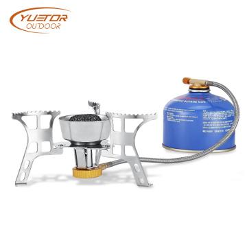 Estufa de cocina de gas de camping de acero inoxidable 3000W