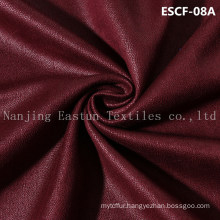 Print and Golden-Plating  Suede Fabric Escf-08A