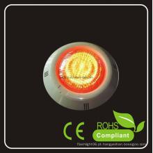 15W AC12V RGB luz da piscina do diodo emissor de luz