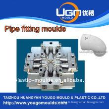 TUV Assesment Mould Factory / Standard taille 90 degrés coude pipe moule en taizhou Chine