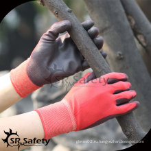 SRSAFETY 13G с нейлоновым лайном с пальмовым покрытием Перчатки для перчаток / рукавицы с ручным покрытием