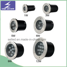 12V 1/3/5/6/7/9/12W Stainless High Power Outdoor LED Buried Light