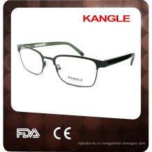 Металл оптические очки брови
