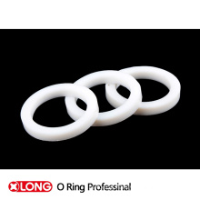 Virgin White Customized Spring PTFE Seals for Valve Industry