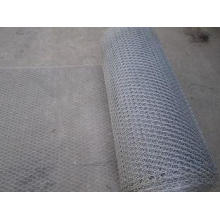 Galvanized Chicken Hexagonal Wire Mesh Netting 4'' For Rabb