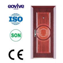 Puertas de seguridad de seguridad puerta de acero puerta color acero inoxidable