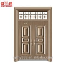 Использованы новые продукты наружные стальные двери для продажи