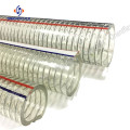 PVC+flexible+wire+steel+hose+discharge+water+hose