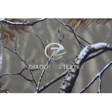 100% Twill Хлопок лесной камуфляжной печати для использования жилеты (ZCBP252)