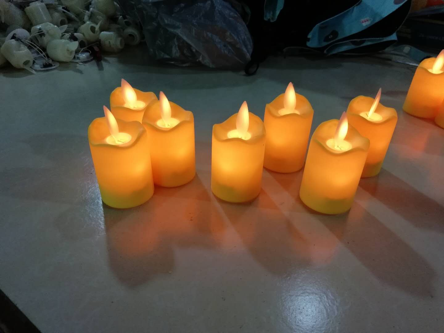 Flickering Led Candle