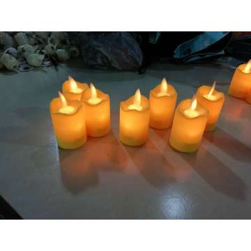 LED candles with remote flickering flameless candles