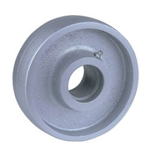 China Wholesale Cast Iron Wheels Semi-Steel