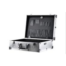 Boîte à outils à outils en alliage d'aluminium robuste (450 * 330 * 150 mm)