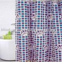 100%polyester shower curtain