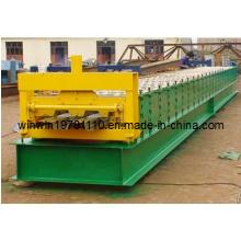 Máquina formadora de rolos de piso de piso de 688 mm