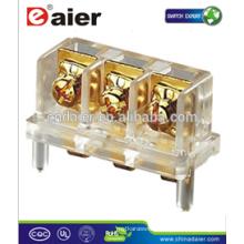 Daier KAR 403 3way Gold Plated Terminal Block Screw Speaker Terminal Block Connector