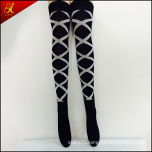 Custom Women Long Nylon Socks