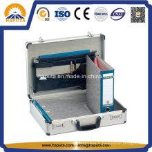 Porte-documents en aluminium professionnel avec serrure à combinaison