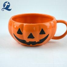 Juego de vajilla de cerámica de calabaza de Halloween Theme