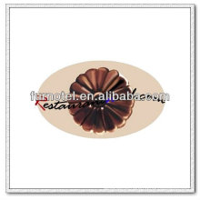 V144 PC Plastic Flower Shape Chocolate Molde