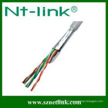 Câble LAN ftp cat5e échoué 4pr 24awg