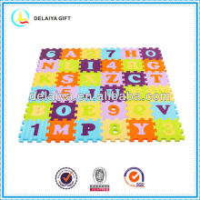 cartoon EVA letters mat/toy for kids or baby