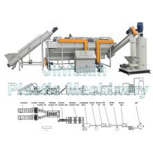 Plastic Crushing und Waschmaschine für PP. PE