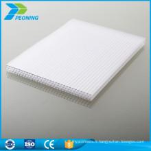 Meilleur prix à l'épreuve des panneaux de revêtement de sol en polycarbonate prismatique en plastique multicouches