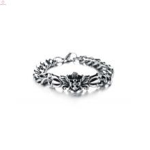 Bracelet chaîne en argent pas cher, bracelets personnalisés, bracelet fait à la main
