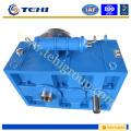 Caja reductora de doble reducción para extrusora de fibra